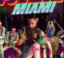 Hotline Miami Sticker