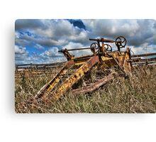 Old Farming Equipment Canvas Print