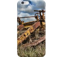 Old Farming Equipment iPhone Case/Skin
