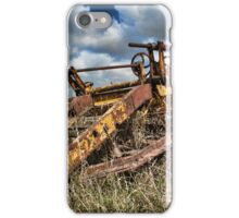 Old Farming Equipment iPhone Case/Skin