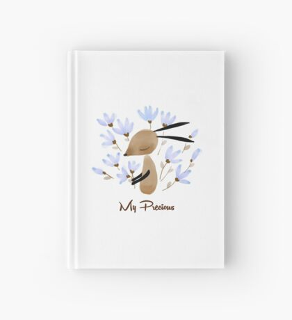 Rabbit and Flower  |  My Precious  Hardcover Journal