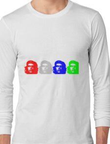 Che Quadriptych  Long Sleeve T-Shirt