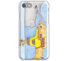 yellow submarine in Gefahr iPhone Case/Skin