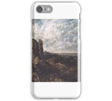 John Constable   Sketch for 'Hadleigh Castle' iPhone Case/Skin
