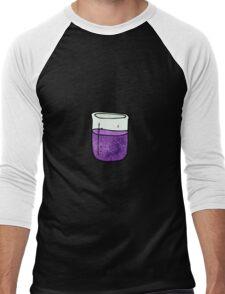 science beaker cartoon Men's Baseball ¾ T-Shirt