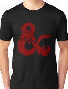 DnD logo (Red) Unisex T-Shirt