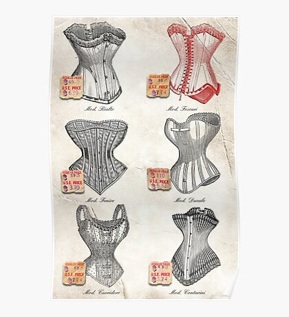 The Red Corset Poster
