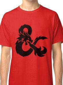 DnD logo (Black) Classic T-Shirt