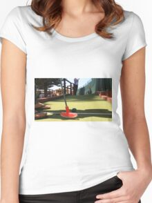 Mini Golf Women's Fitted Scoop T-Shirt