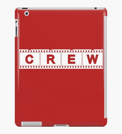 Movie Production Film Crew iPad Case/Skin