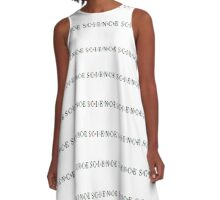In The Line of Science A-Line Dress