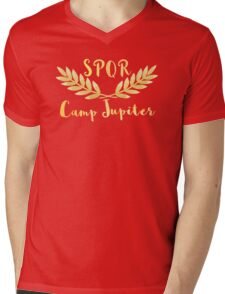 camp jupiter v2 Mens V-Neck T-Shirt