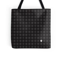 Polka-Death Tote Bag