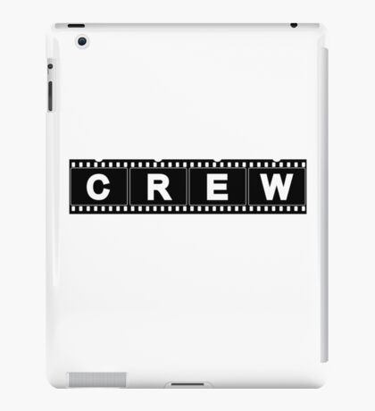 Movie Production Film Crew (Light) iPad Case/Skin