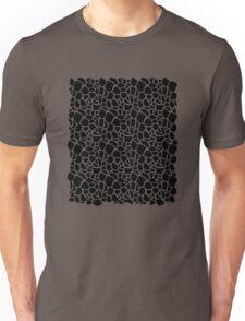 Abstract Safari - Geometric Black and White Pattern Unisex T-Shirt