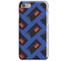 Master System (blue) iPhone Case/Skin