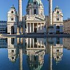 Karlskirche church in Vienna by naturalis
