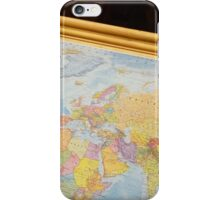 Wanderlustful Russian Vintage Map iPhone Case/Skin