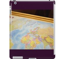 Wanderlustful Russian Vintage Map iPad Case/Skin