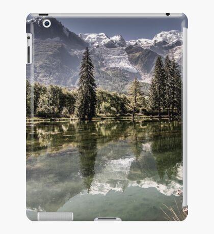 Landscape in Mont Blanc iPad Case/Skin