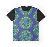 Mermaid Mandala Ocean Spirit Flow Like The Waves Water Nymph Graphic T-Shirt