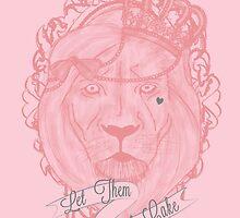 Liontoinette by meatballhead