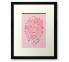 Liontoinette Framed Print