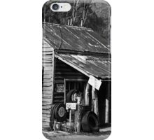 Woods Point Service Station iPhone Case/Skin