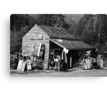 Woods Point Service Station Canvas Print