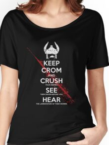 KEEP CROM Women's Relaxed Fit T-Shirt