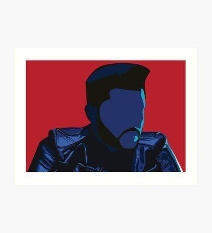 The Weeknd - Starboy Art Print