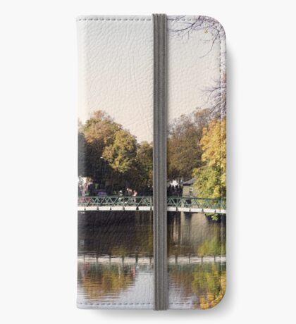Uppsala, Fyris river, autumn iPhone Wallet/Case/Skin