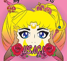 Usagi by meatballhead