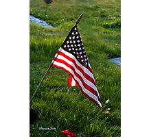 To Honor the Fallen ~ Memorial Day Photographic Print
