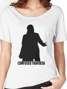 Confused Travolta Women's Relaxed Fit T-Shirt