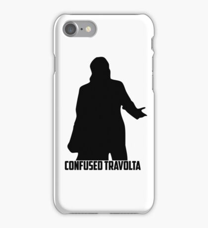 Confused Travolta iPhone Case/Skin