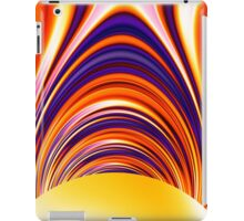 Color and Form Abstract - Solar Gravity and Magnetism 4 iPad Case/Skin