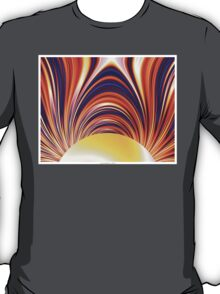 Color and Form Abstract - Solar Gravity and Magnetism 4 T-Shirt
