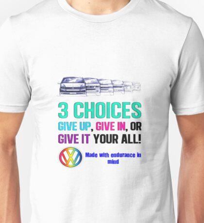 VW Endurance Unisex T-Shirt