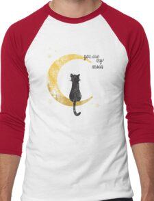 My Moon Men's Baseball ¾ T-Shirt