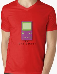 Old School Handheld Mens V-Neck T-Shirt