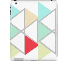 Triangles Negative iPad Case/Skin