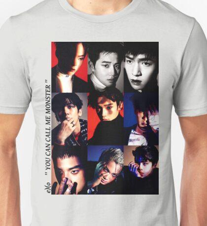 Kpop band EXO monster poster Unisex T-Shirt