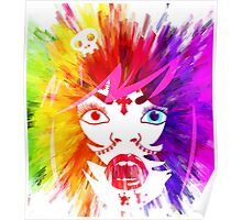 colorful gypsy vampire Poster
