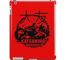 Akira Katsuhrio Cycles iPad Case/Skin