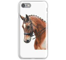 Dressage Portrait iPhone Case/Skin
