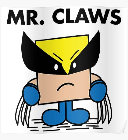 Mr. Claws Poster