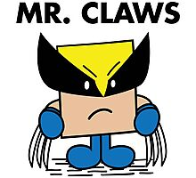 Mr. Claws Photographic Print