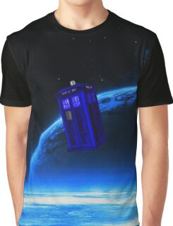 tardis in the sky  Graphic T-Shirt
