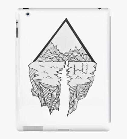 geometric landscape iPad Case/Skin